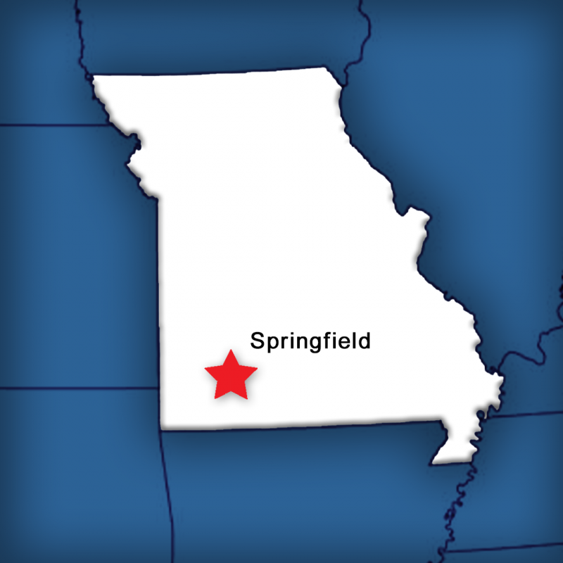Springfield Missouri Map